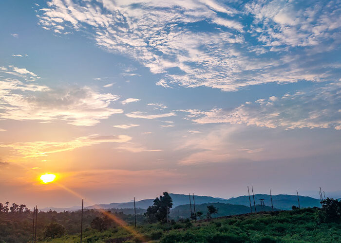 Sitarampur sunset view