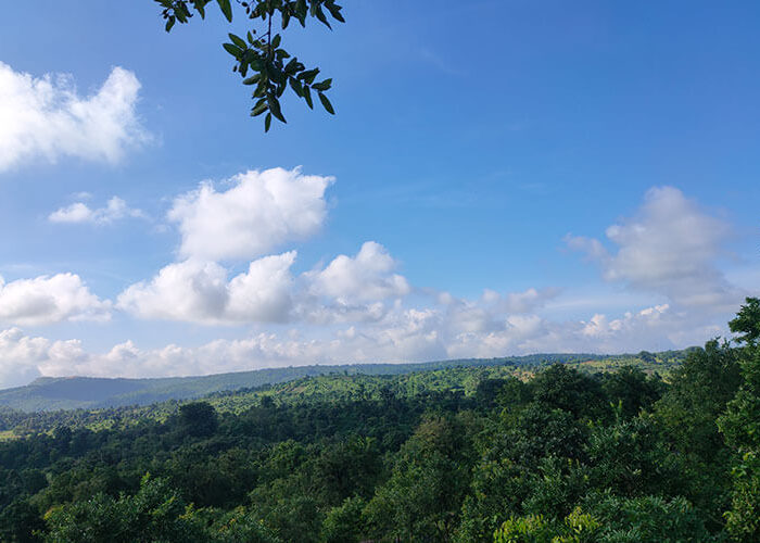 Purulia hill camping view