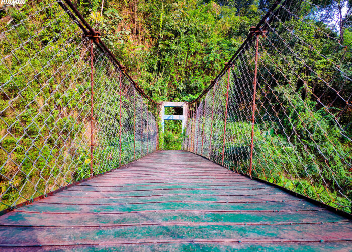 Gidang Hanging Bridge