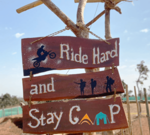 First Bikers' Camp